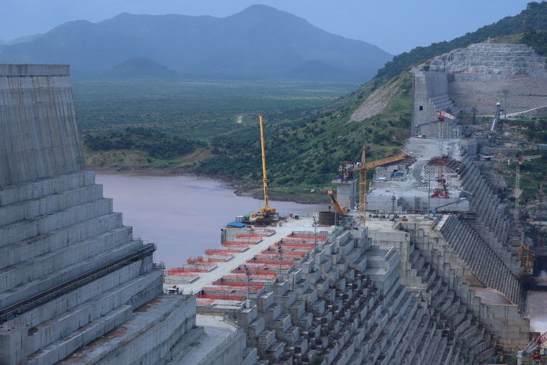 The Grand Ethiopian Renaissance Dam has caused concern over water shortages and safety in Egypt and Sudan [File: Tiksa Negeri/Reuters]