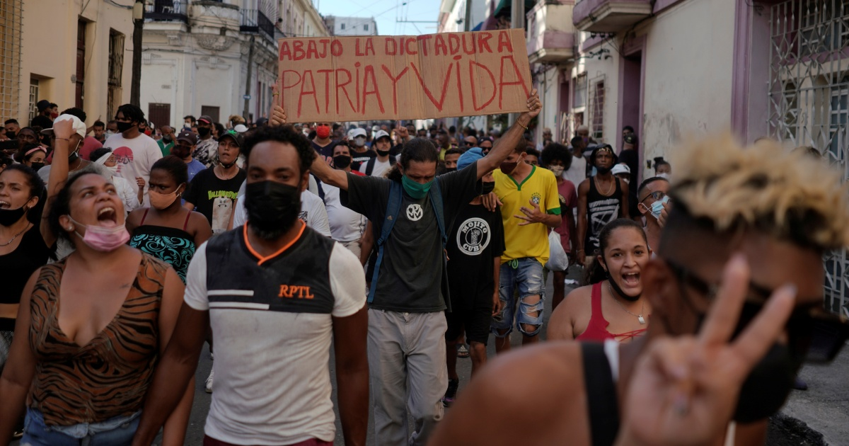 Why Cubans took to the streets in all-but-unheard-of protests | Coronavirus pandemic News
