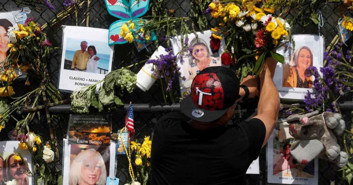 Last victim of Florida Surfside condo collapse identified