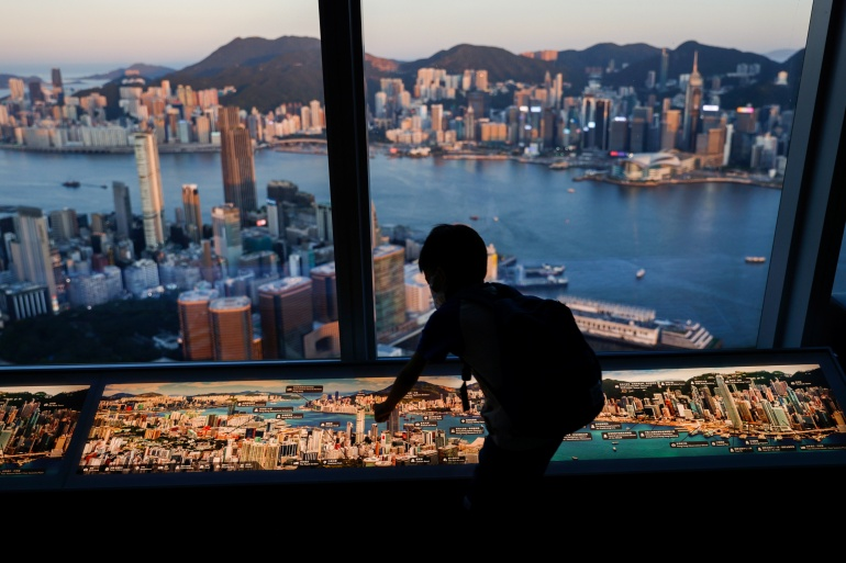 Since China imposed the national security law to criminalise what it considers subversion, secessionism, terrorism or collusion with foreign forces, most pro-democracy activists and politicians in Hong Kong have found themselves ensnared by it or arrested for other reasons [Tyrone Siu/Reuters]