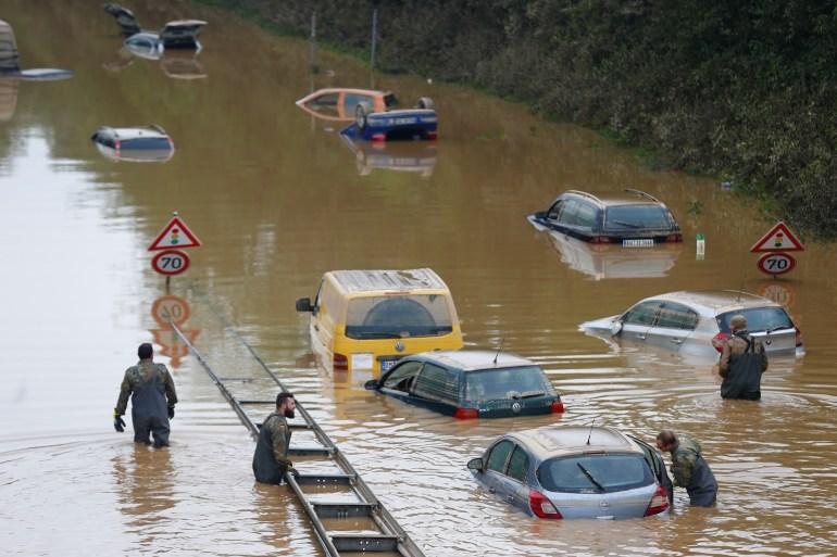 Rescuers rush to help as Europe's flood toll surpasses 150 | Floods News |  Al Jazeera