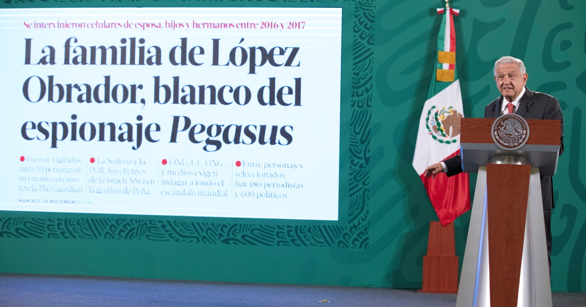Photo of Human rights groups call for a moratorium on the use of spyware in Mexico | Andrés Manuel López Obrador News