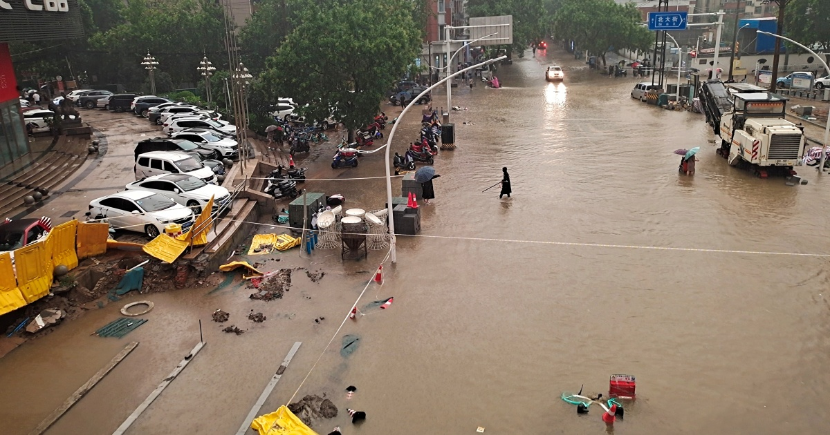 Chinese floods