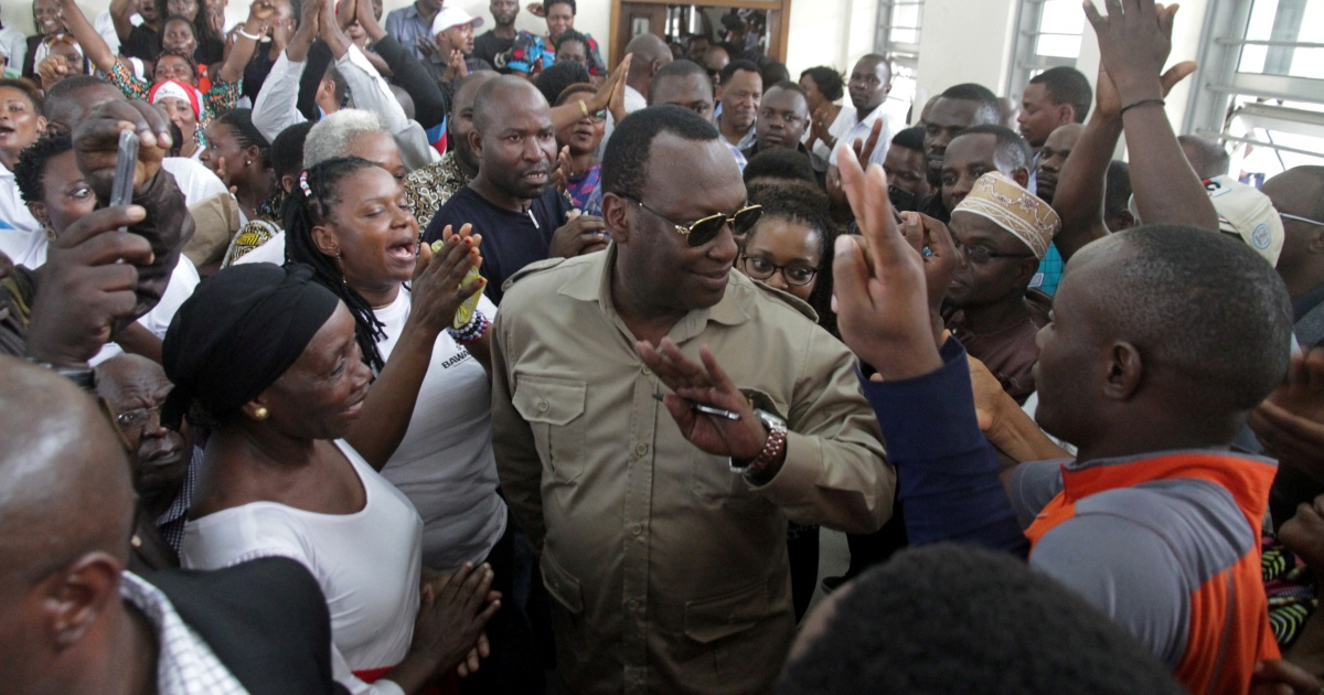 Tanzania opposition leader court case postponed, protesters held