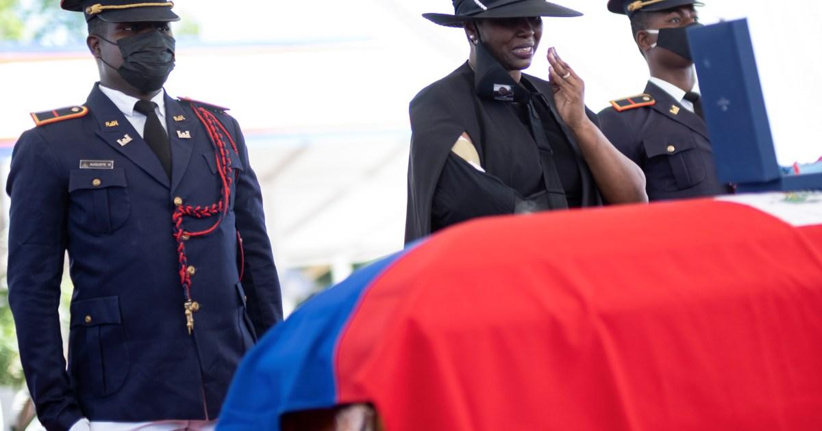 Photo of The killer killed me: Martina Mois, wife of the murdered Haitian leader | Crime News