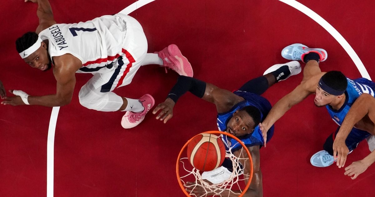Photo of France shocks the United States to end its 25 Olympic basketball winning streak | Basketball News