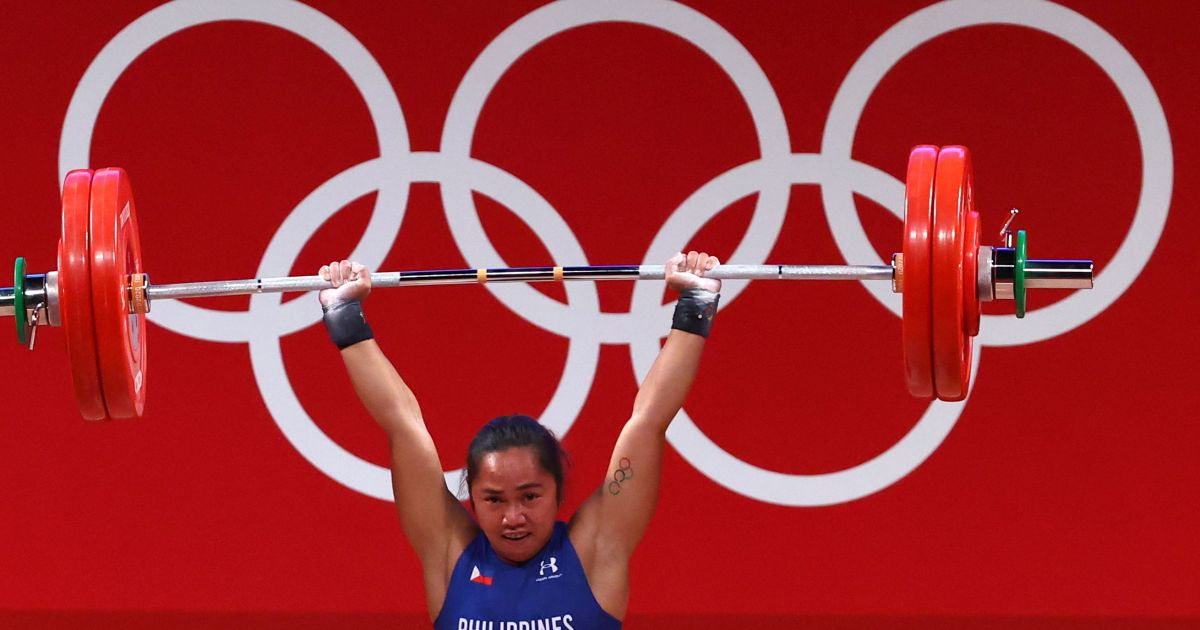 First-ever Olympic gold lifts COVID-weary Philippines