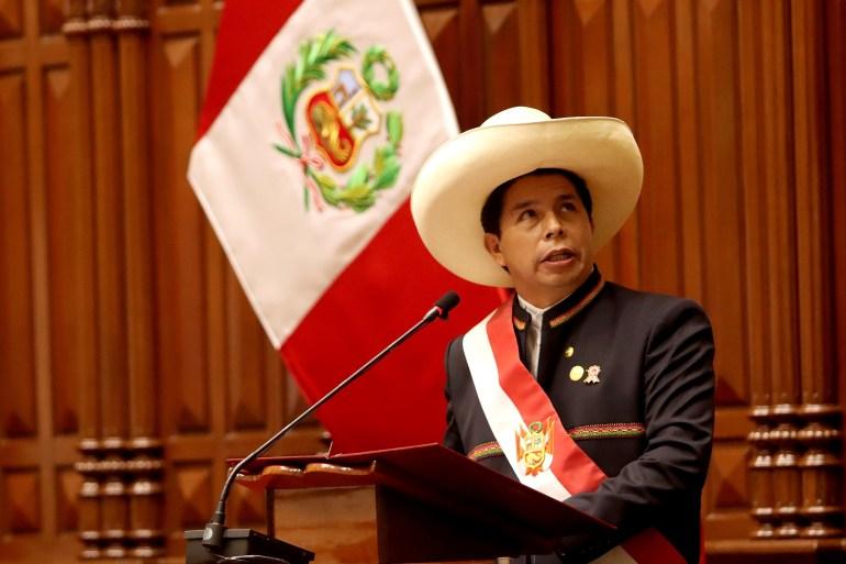 Peru's Castillo faces major challenges as presidency begins | Elections  News | Al Jazeera