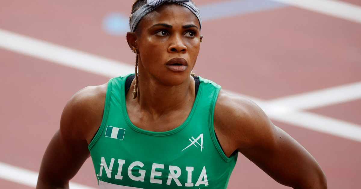 Nigeria's Okagbare fails drugs test, suspended from Olympics thumbnail