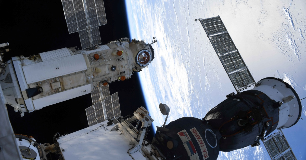 Russian space module misfire mishap knocks ISS out of position