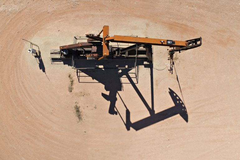 US shale producers have said they will maintain fiscal discipline [File: Daniel Acker/Bloomberg]
