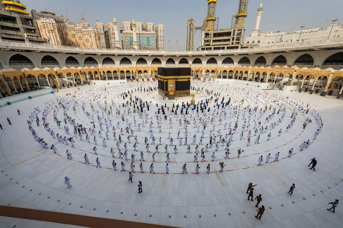 The Hajj is seen as a chance to wipe clean past sins and bring about greater unity among Muslims. [AP Photo]