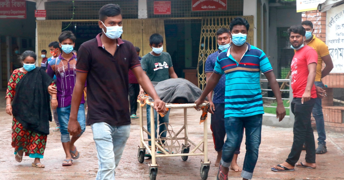 Bangladesh sees record 201 single-day COVID deaths as cases surge thumbnail