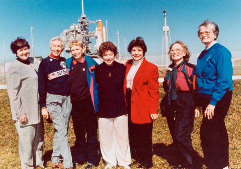 - AP21182516969392 - Trailblazing pilot Wally Funk is finally going to space | Space News
