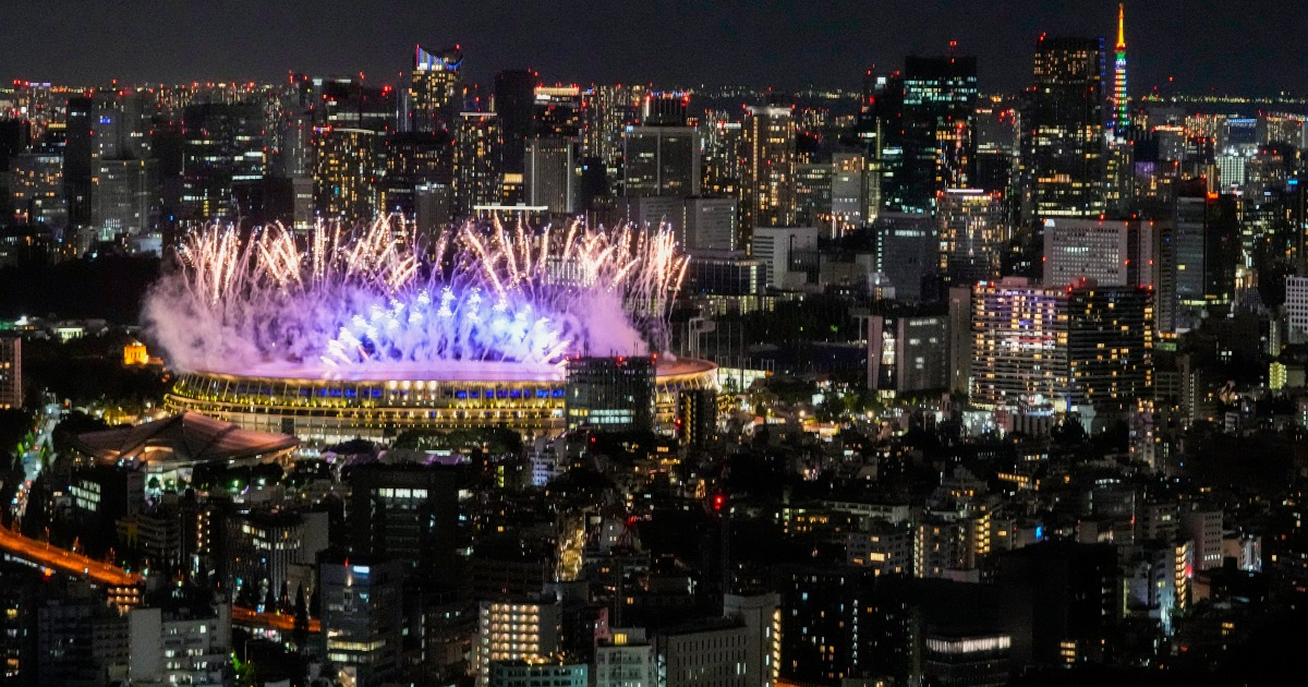 In Pictures: Tokyo 2020 Olympics open with sombre ceremony