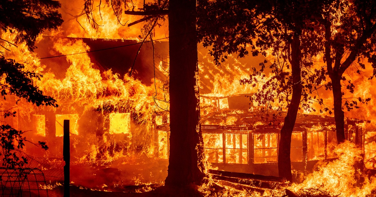 Photo of California's largest fire destroyed homes as fires swept through the western United States | International News US and Canada News