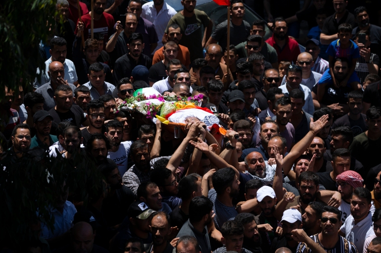 Israeli forces kill Palestinian during West Bank funeral protest | Israel-Palestine  conflict News | Al Jazeera