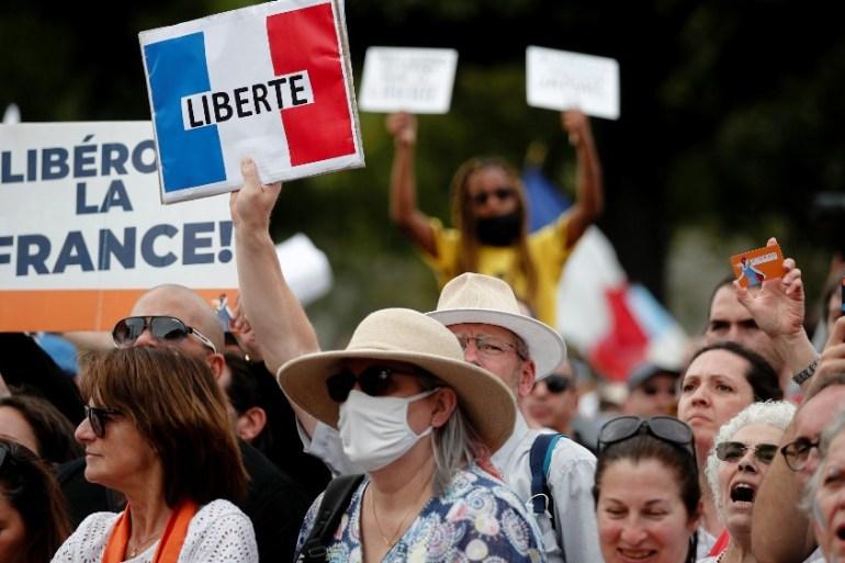 歐洲多國爆「反防疫限制」示威 拒絕疫苗護照