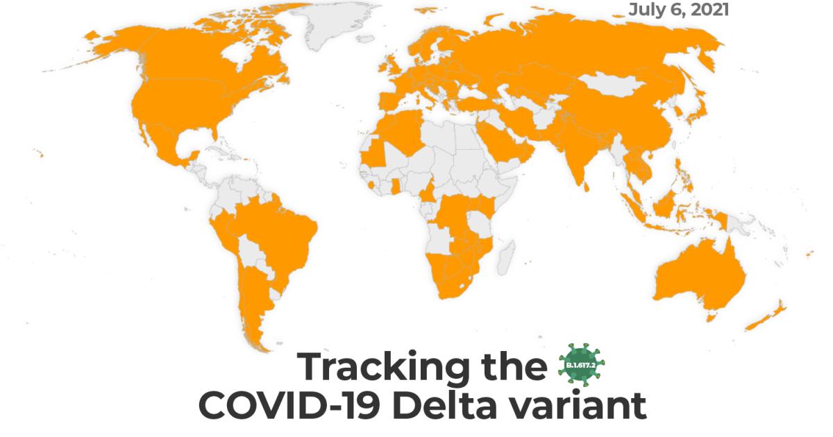 Map: Tracking the Delta variant | Coronavirus pandemic News | Al Jazeera