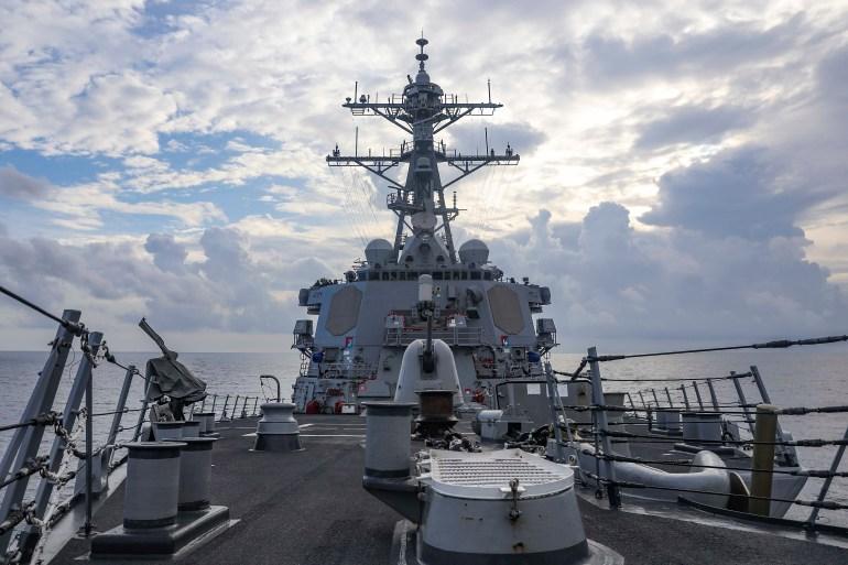 China Claims It 'Drove Away' U.S. Warship in South China Sea