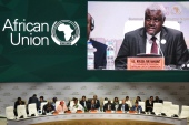 The African Union Commission granted Israel observer status in July [File: AFP/Issouf Sanogo]