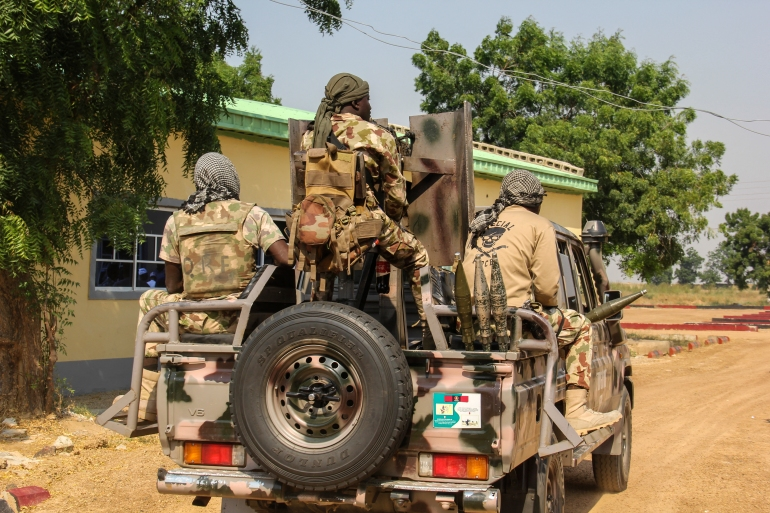 Army units and security agencies were pursuing the attackers and trying to rescue the kidnap victim, a spokesman said [Audu Marte/AFP]