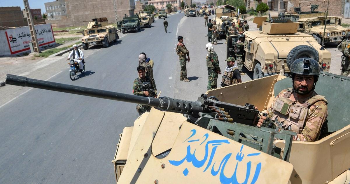 Fighting between Afghan forces, Taliban intensifies: Live news