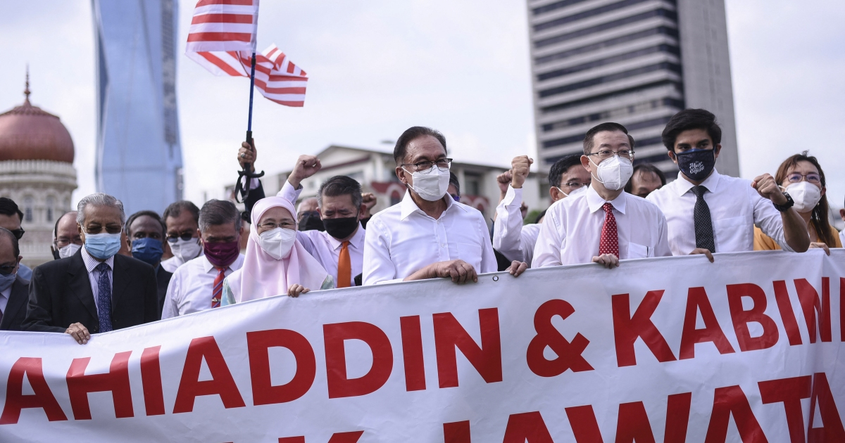 Malaysia deploys riot police as MPs attempt march to parliament