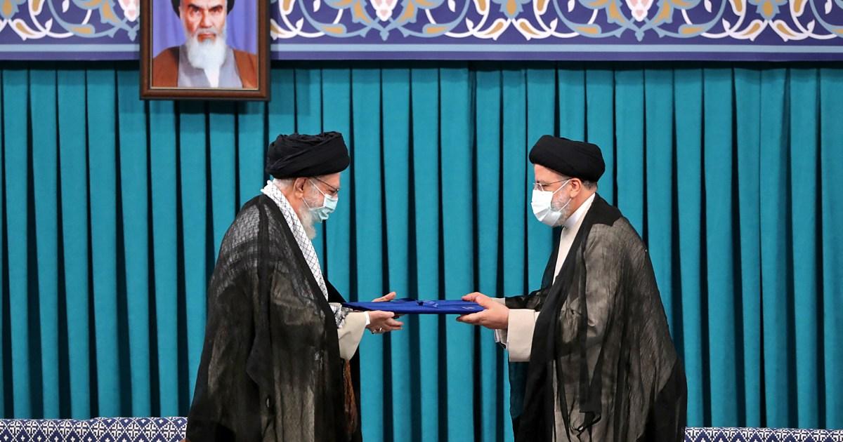 Iran's Raisi promises to lift sanctions, improve public trust