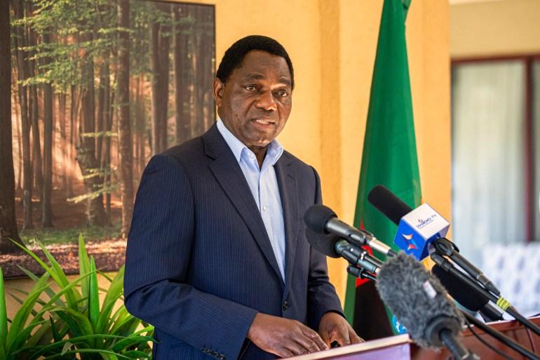 Zambia: Hakainde Hichilema takes early presidential election lead | Elections News | Al Jazeera