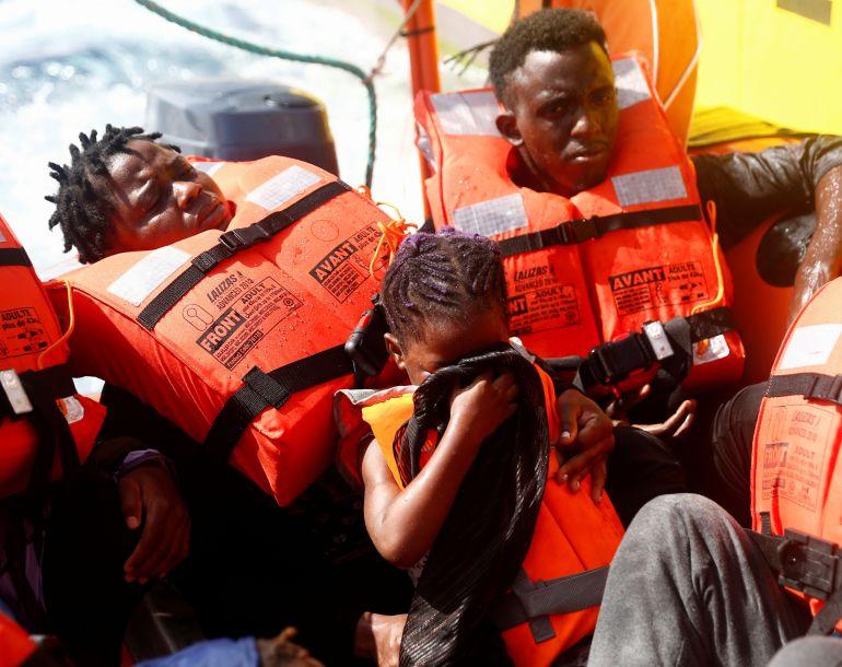 , Nearly 400 migrants rescued in Mediterranean Sea,