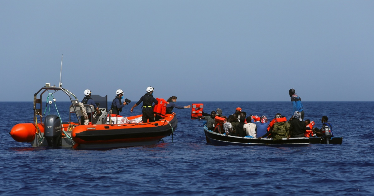 Photo of Nearly 400 migrants rescued in the Mediterranean | Immigration News