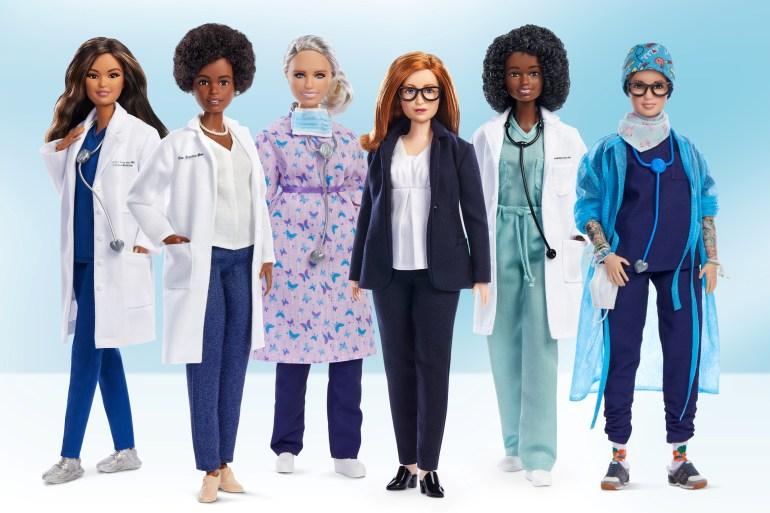 Barbie Debuts Doll In Likeness Of Uk Covid 19 Vaccine Developer Coronavirus Pandemic News Al Jazeera