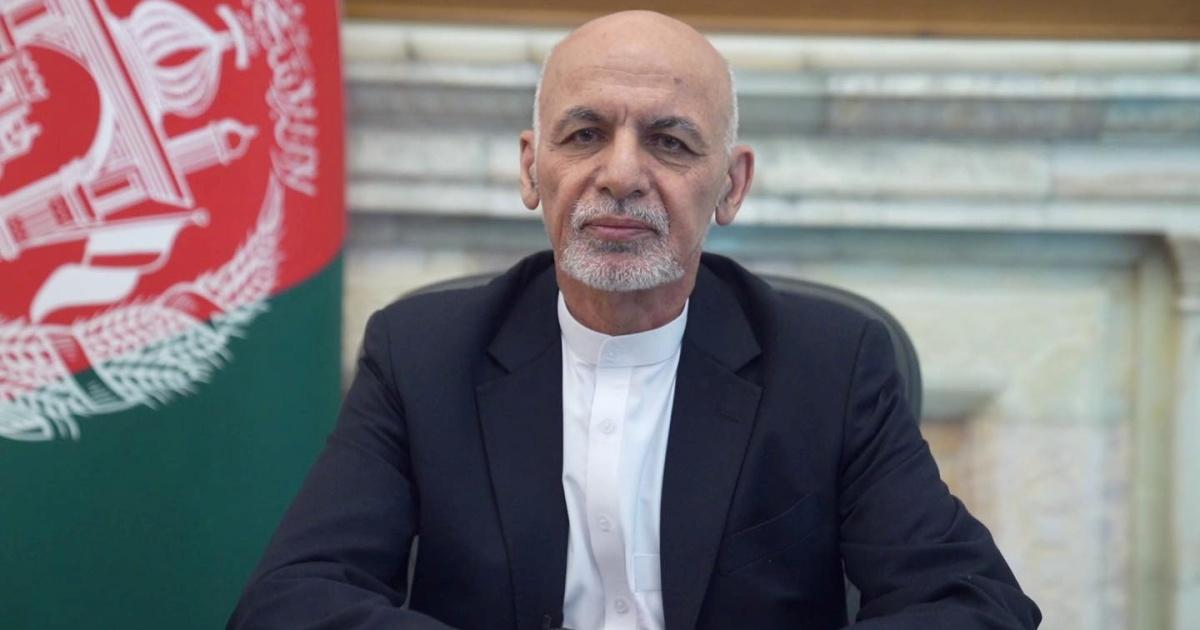 When the Taliban encircle Kabul, Afghan President Ashraf Ghani flees the nation.
