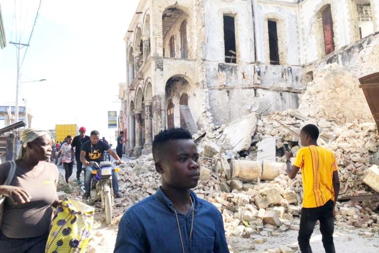 More than 300 dead after 7.2 magnitude earthquake strikes Haiti   Earthquakes News   Al Jazeera