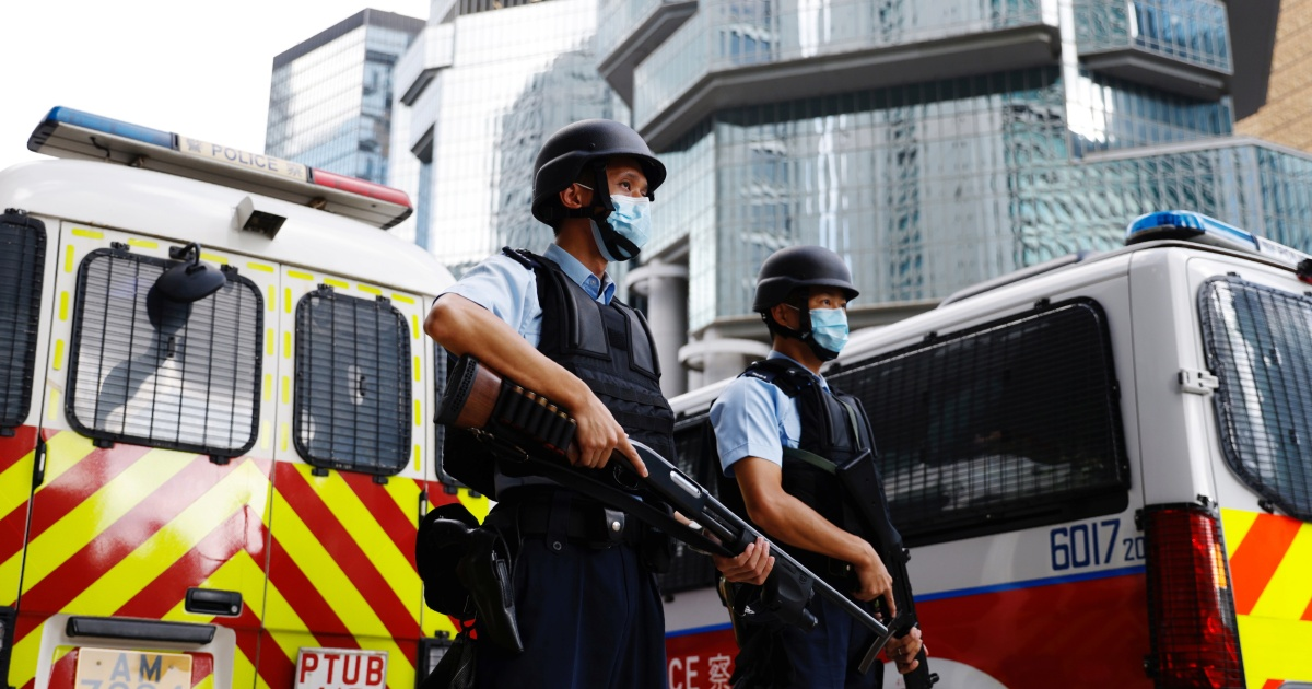 Two Hong Kong activists convicted on security law charge thumbnail