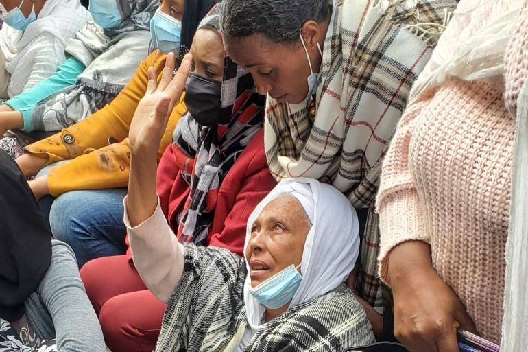Parents have appealed to officials to help evacuate their children [Samuel Getachew/Al Jazeera]