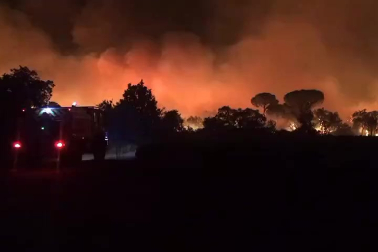 France is just the latest of a number of Mediterranean countries to be hit by extreme weather and wildfires [AFP]