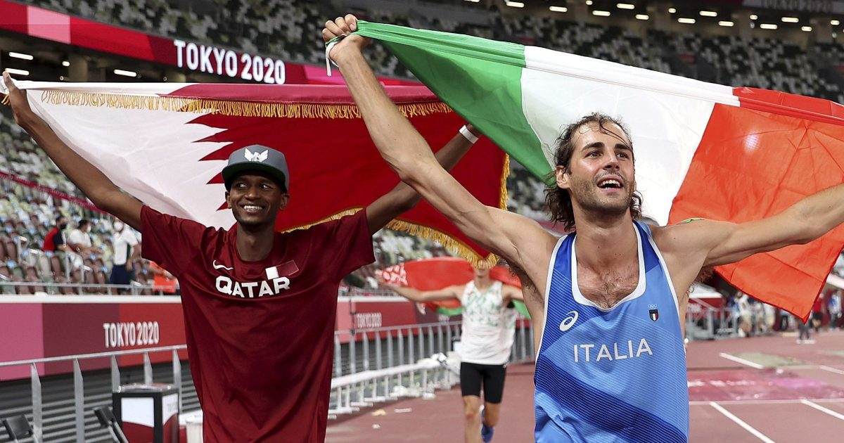 How two friends decided to share Olympic gold in Tokyo