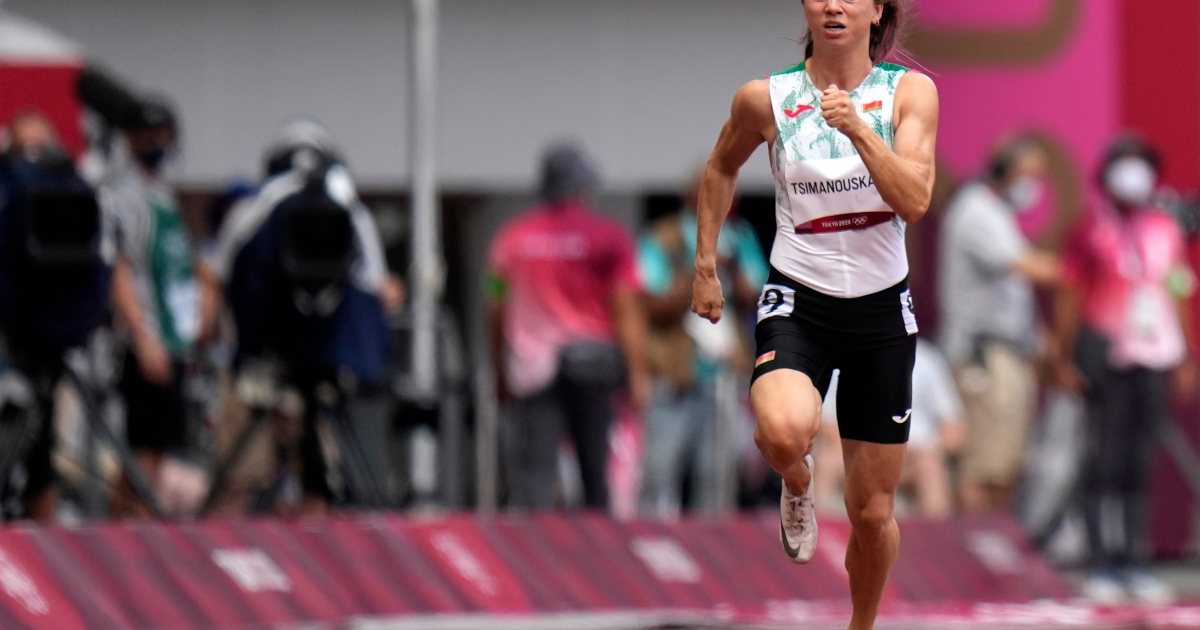 Japan says Belarus athlete safe as US, EU condemn Lukashenko