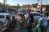 Taliban fighters inside the city of Farah, capital of Farah province southwest of Kabul [Mohammad Asif Khan/AP Photo]
