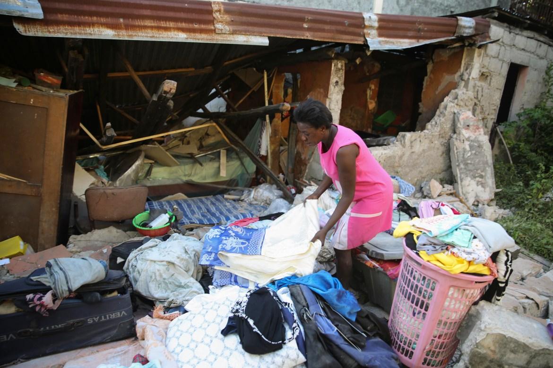 Southwestern Haiti bore the brunt of the blow. [Joseph Odelyn/AP Photo]