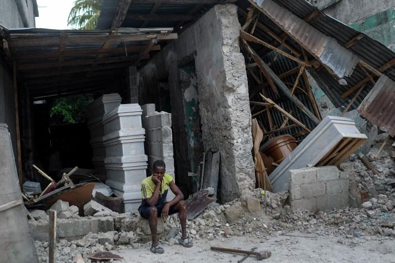 'We need help': Haiti earthquake survivors lack food, shelter AP21228759442209