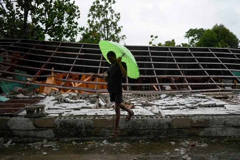 'We need help': Haiti earthquake survivors lack food, shelter AP21229486771264