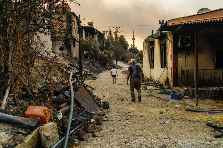 Turkey wildfires: Despair and questions as forests burn | Environment News  | Al Jazeera