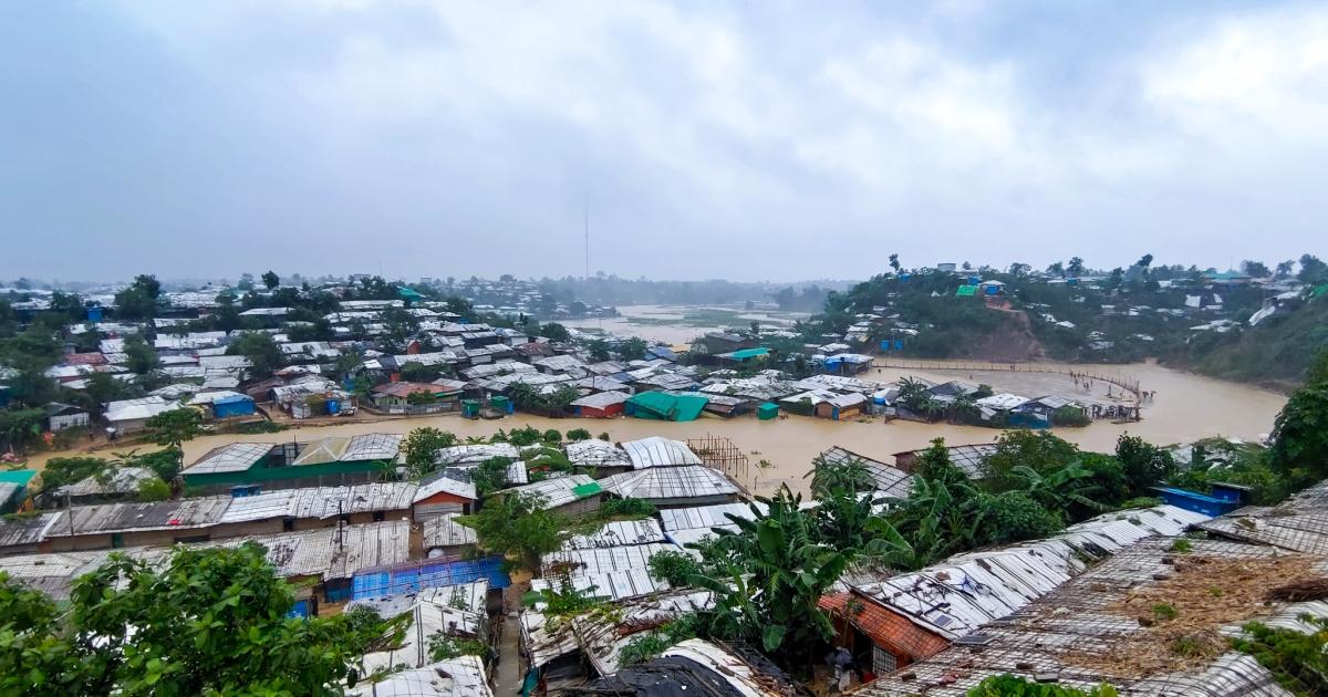 Through refugee eyes: Fatal floods in Bangladesh's Rohingya camps