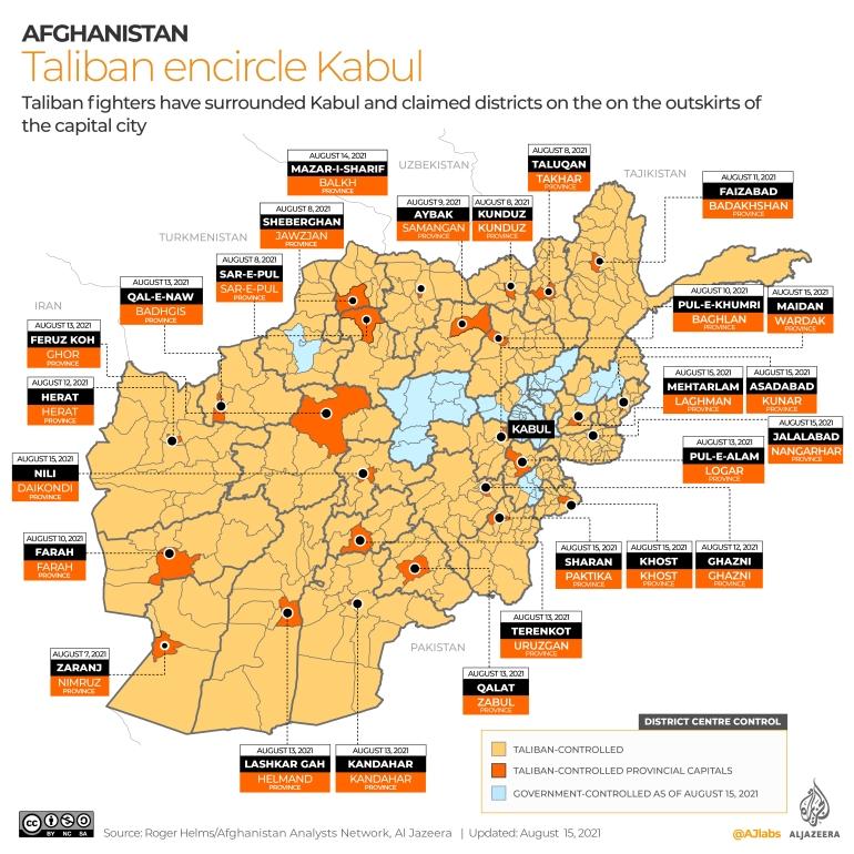 President Ashraf Ghani leaves Afghanistan: Live   Joe Biden News   Al  Jazeera