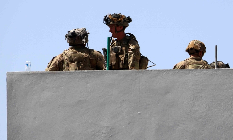 Civilians, US troops among dozens killed in Kabul blasts: Live   Taliban  News   Al Jazeera