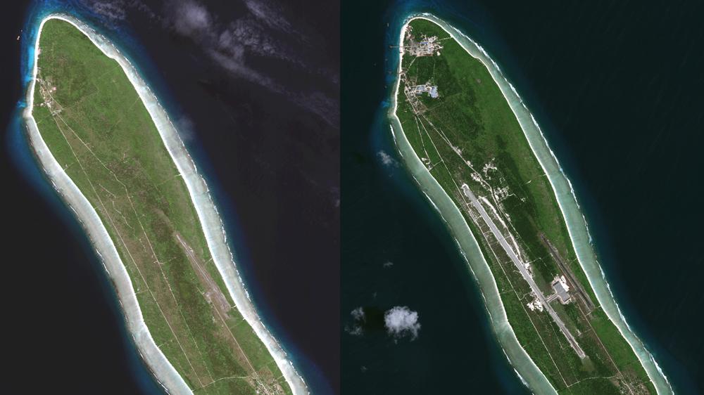 Why is India building a military base on Agaléga island?