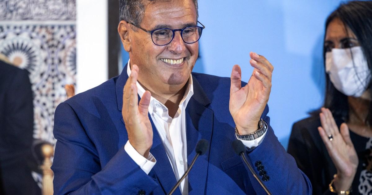 Image Morocco's premier Akhannouch announces coalition agreement
